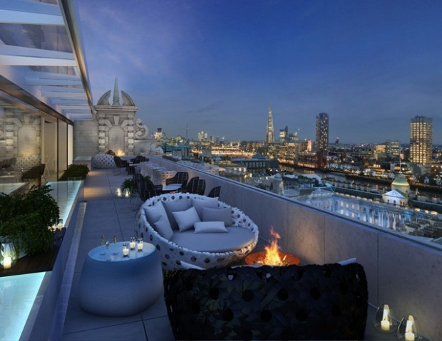 Up On The Roof A Review Of London Rooftop Bars Balance